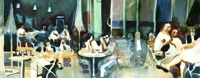 Cafe Blinis, Bergmannstrasse