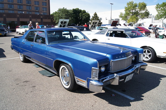 Lincoln Motor Company >> 74 Lincoln Continental | Flickr - Photo Sharing!