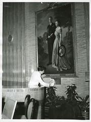 Portrait of Princess Elizabeth and the Duke of Edinburgh