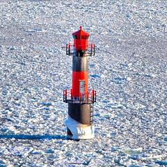 arctic, winter, snow, lighthouse, tower,