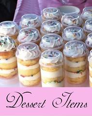Dessert Items
