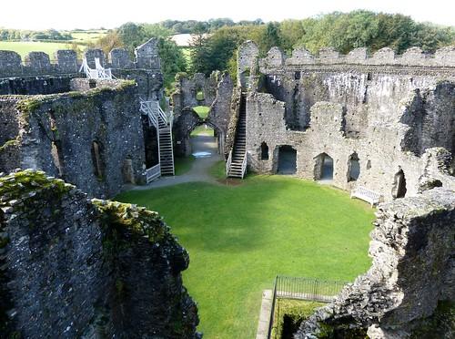 Restormel Castle, Cornwall