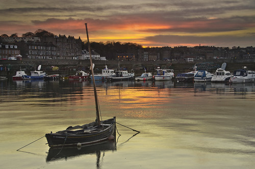 Newhaven Sunset 3 Nov 2012
