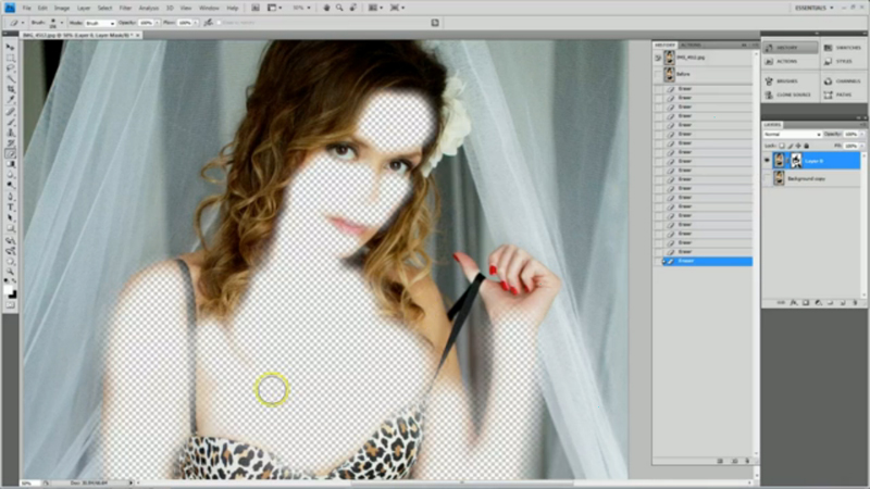 Photoshop Retouching Video Tutorial for Portrait and Boudoir Photographers
