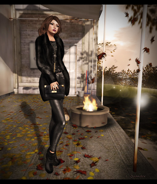Mimikri DEA Sequin Top and Leather Pants