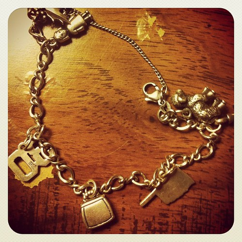 #Thankful to have found my charm bracelet which had been lost for almost two years!