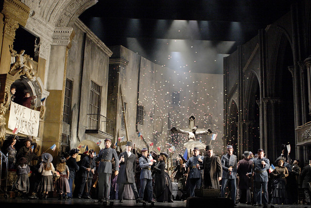 Artists of the Royal Opera in Faust  © Catherine Ashmore / ROH 2012