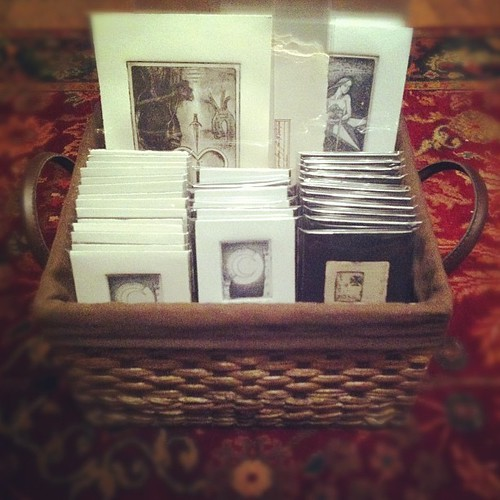 Box o' prints! (Or, Help Me Pay For Another Year's Printlab Membership.) #printmaking #intaglio