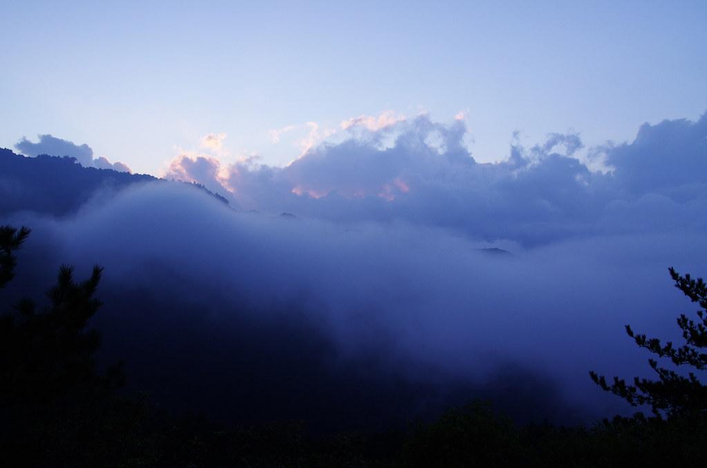 本日の天の川 in 塔塔加