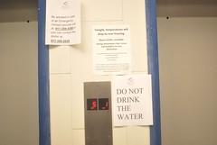do not drink indoor