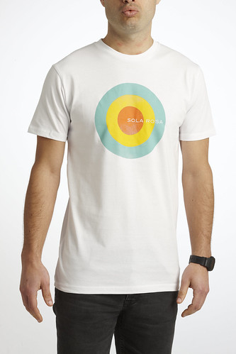 Mens Circle tee (white)