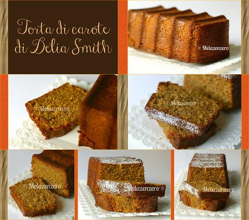torta di carote di Delia Smith