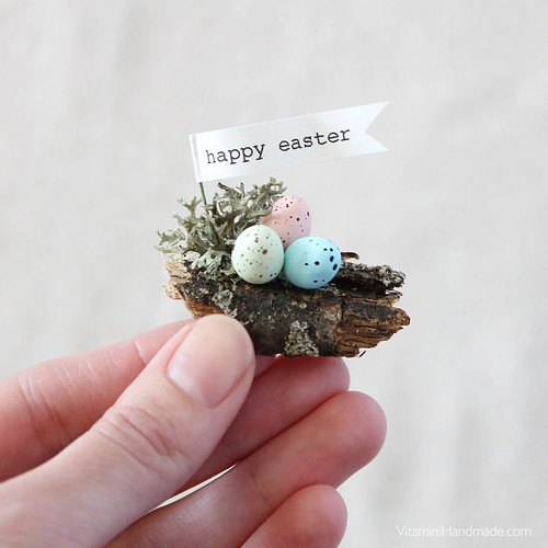 DIY Mini Easter Dome