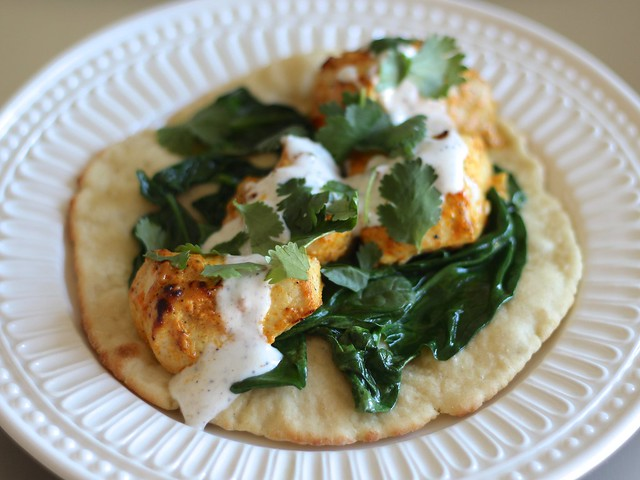 Chicken Tikka Tikka Tacos (Gluten-free)