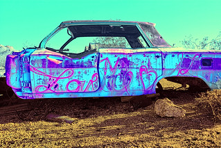 rusted out Chevrolet