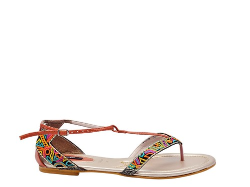 Rust Flat Formal sandal (1)