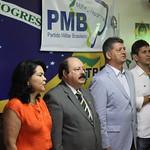 Reunião pré-convencional regional SP e reunião conjunta PRTB - PMB (Partido Militar Brasileiro) SP - RJ