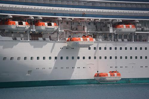 Sapphire Princess lifeboats