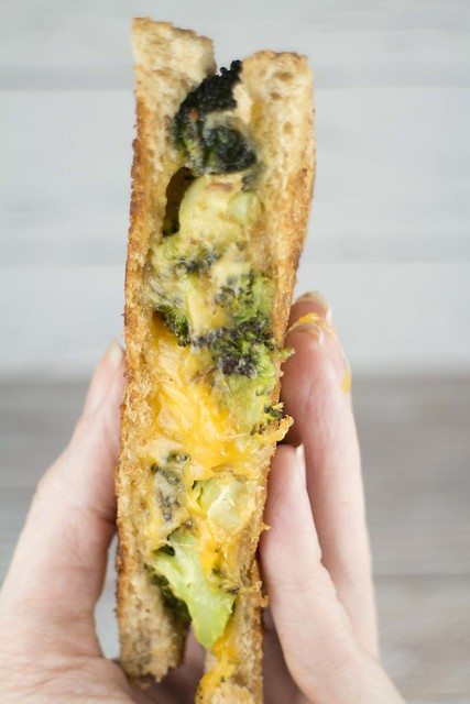 Broccoli Grilled Cheese Sandwich_4
