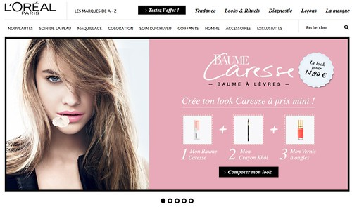 l'oreal new site