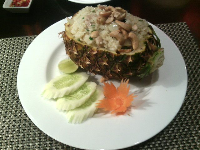 13. Phan Khom Pineapple fried rice