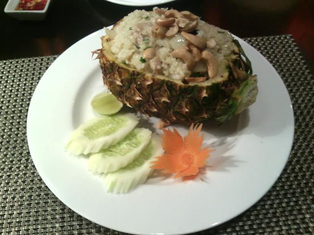 13. Phan Khom Pineapple fried rice