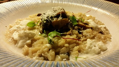 Wild Mushroom and Winter Greens Risotto
