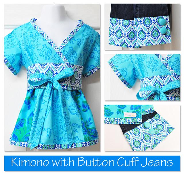 kimono collage