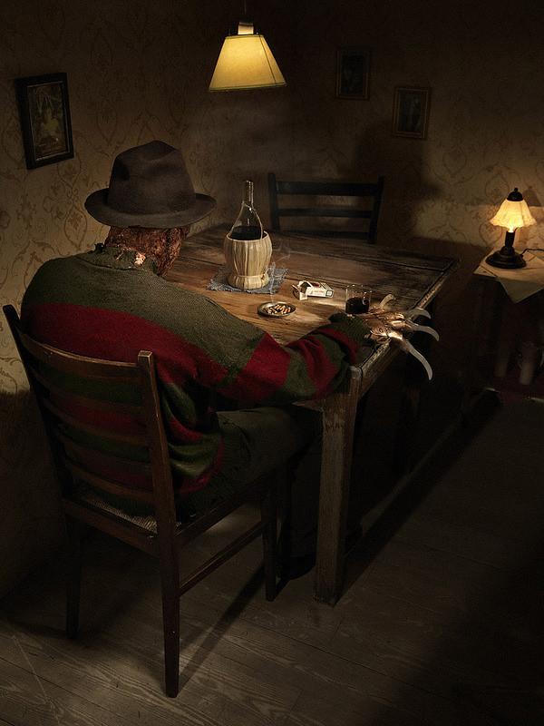 """Freddy Krueger de """"A Hora do Pesadelo"""""""