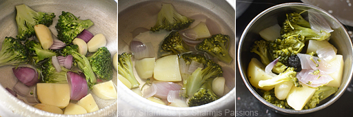 Broccoli Soup Recipe - Step1