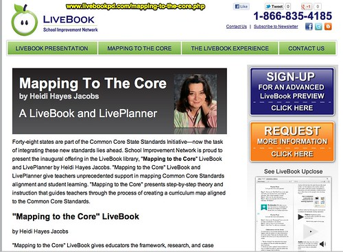 LiveBook Mapping To The Core