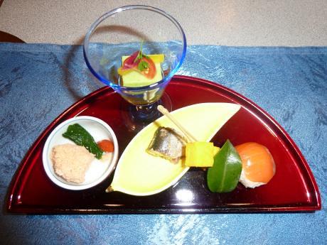 トスラブ箱根 和奏林 料理 前菜