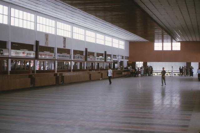 Saigon 1964 - Tan Son Nhut Intl Commercial Terminal