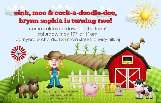 Brynn's Farm Invite2 Blog