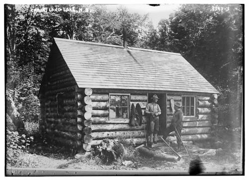 Cabin, Long Lake, N.B.  (LOC)
