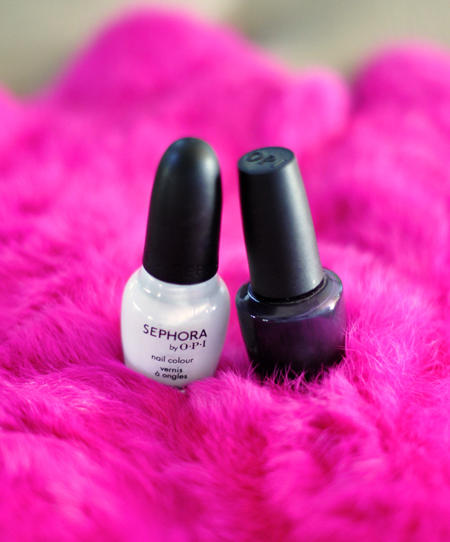 sephora opi nail  polishes