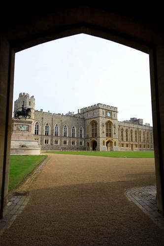 The Upper Ward, Windsor Castle