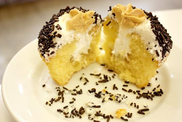 Irish Creme Cupcake innards