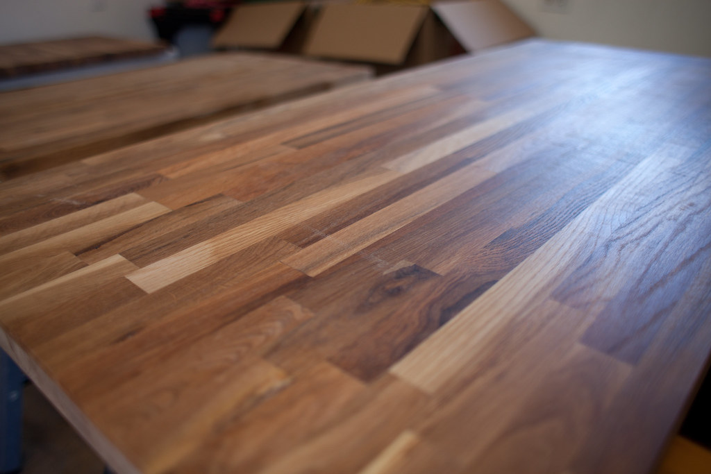 Raw butcher block
