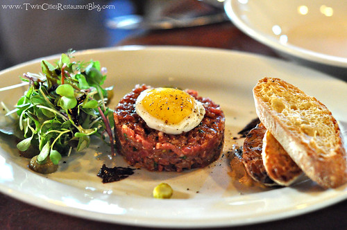 Steak Tartare at Barbette ~ Minneapolis, MN