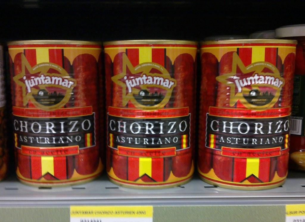 Canned Chorizo