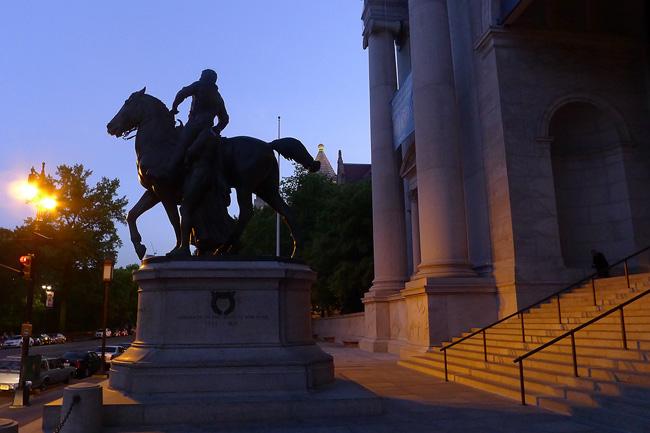 NY Historical Society, CPW