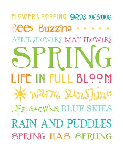 Spring Subway art