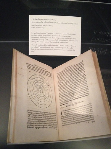 Copernicus: On the revolution of heavenly bodies, 1566