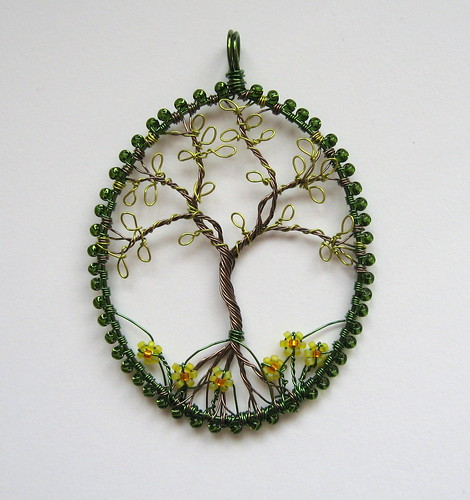Springtime Pendant by Louise Goodchild