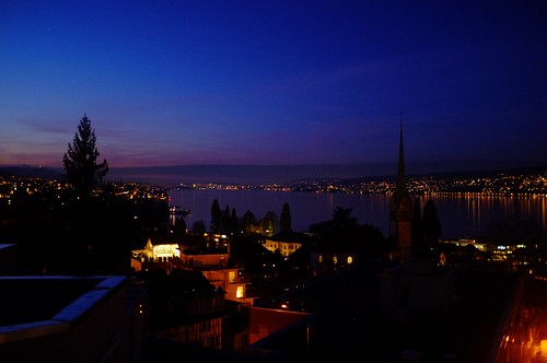 Swiss, Horgen twilight time by y.yuya