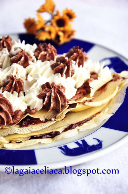 crepes alla gianduia