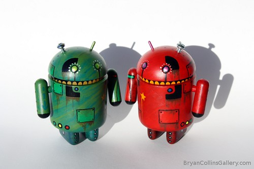 Custom Android Figures by BryanACollins