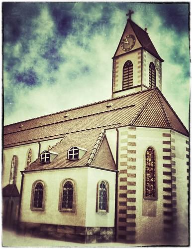 Kirche in Wangen SZ