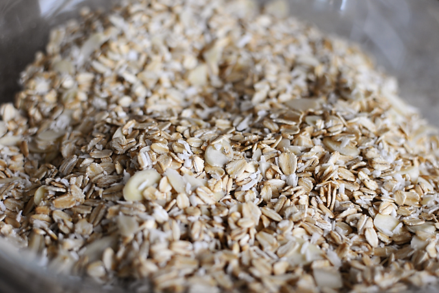 almond-coconut-granola-ingredients